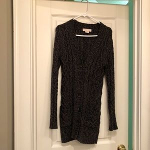 Michael Kors Cable-Knit Sweater Dress